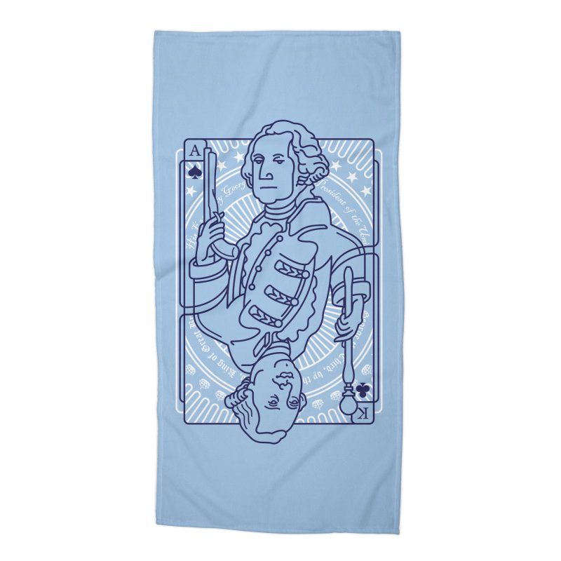 George vs George Accessories Beach Towel by thunderpeel