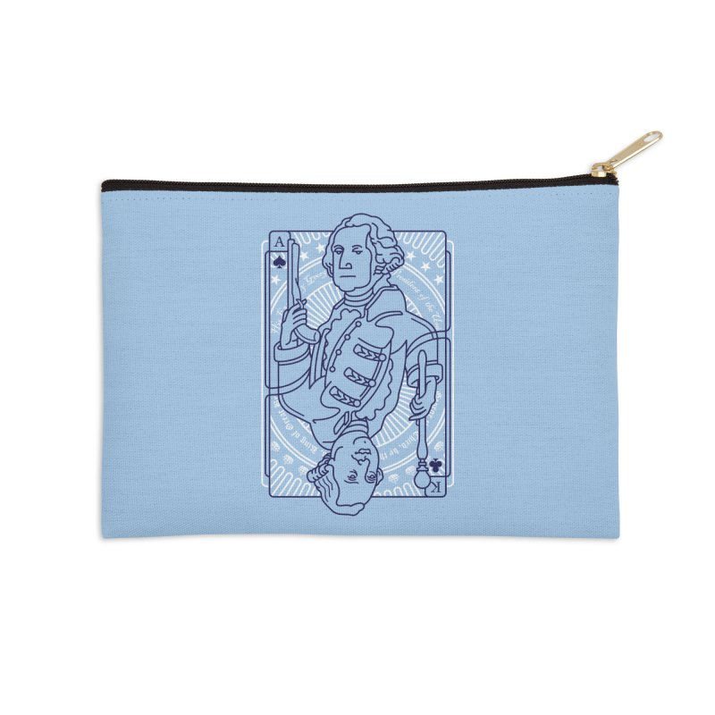 George vs George Accessories Zip Pouch by thunderpeel