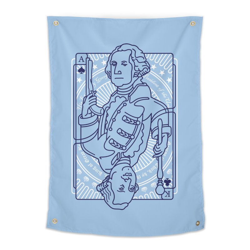 George vs George Home Tapestry by thunderpeel