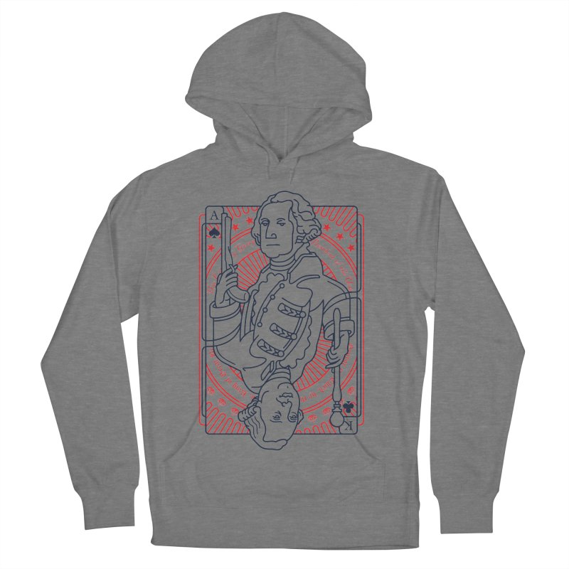 George v George Men's French Terry Pullover Hoody by thunderpeel