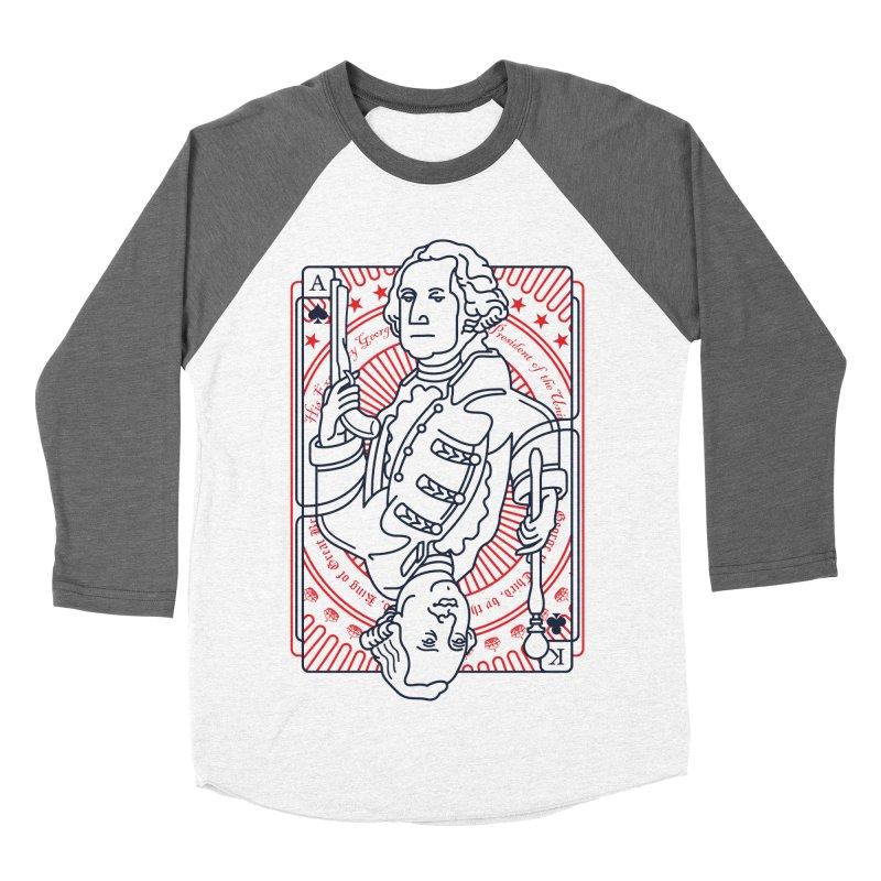 George v George Women's Baseball Triblend Longsleeve T-Shirt by thunderpeel