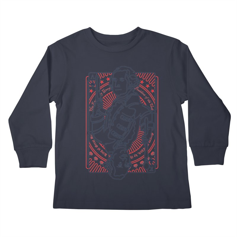 George v George Kids Longsleeve T-Shirt by thunderpeel