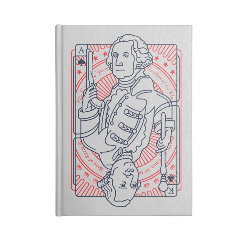 George v George Accessories Lined Journal Notebook by thunderpeel