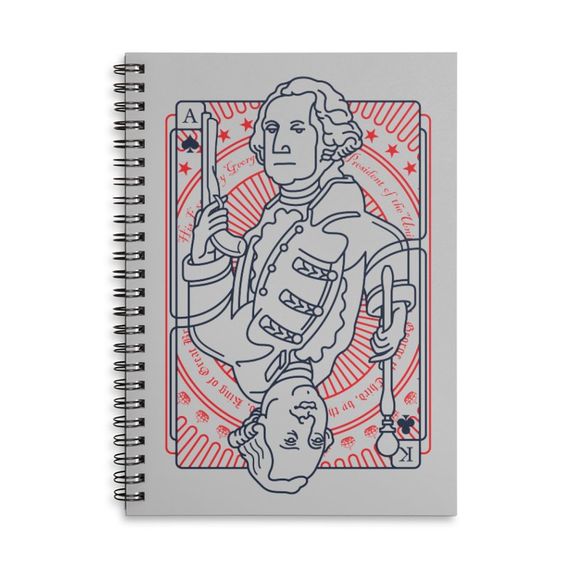 George v George Accessories Lined Spiral Notebook by thunderpeel