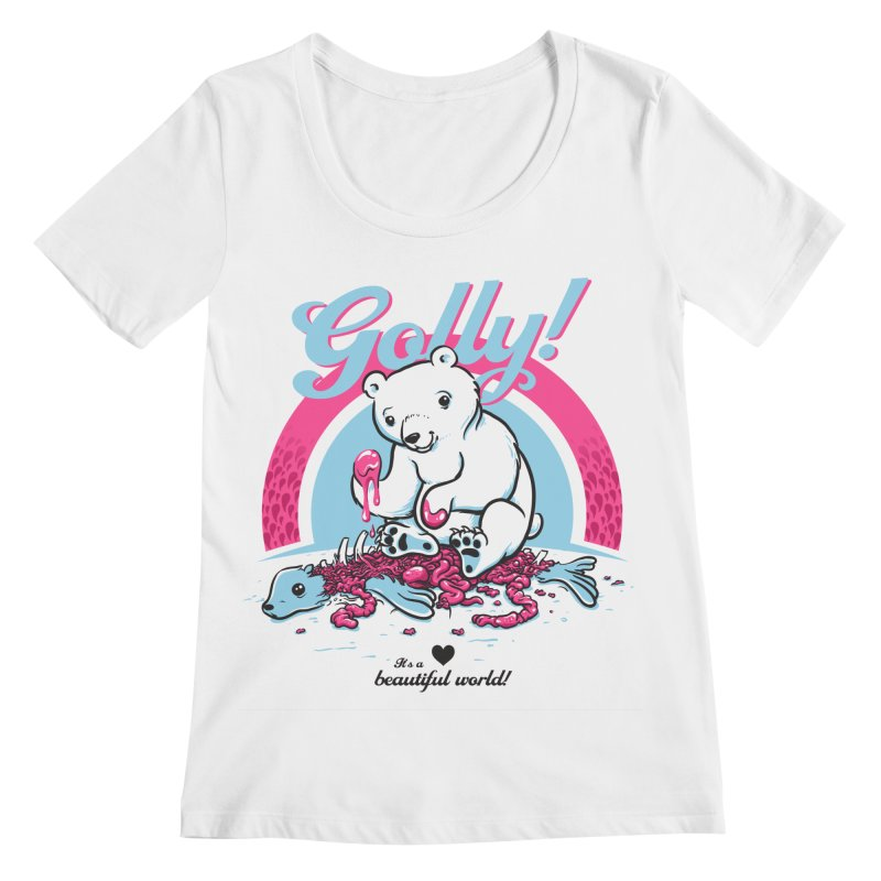 Golly Women's Scoopneck by thunderpeel