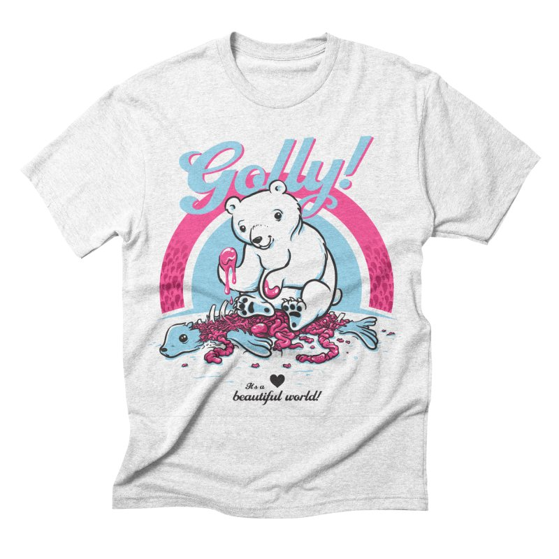 Golly Men's Triblend T-shirt by thunderpeel