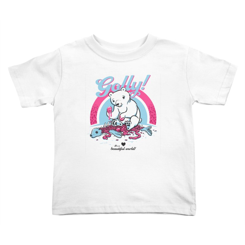 Golly Kids Toddler T-Shirt by thunderpeel