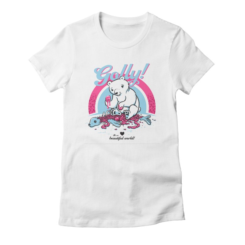 Golly Women's Fitted T-Shirt by thunderpeel