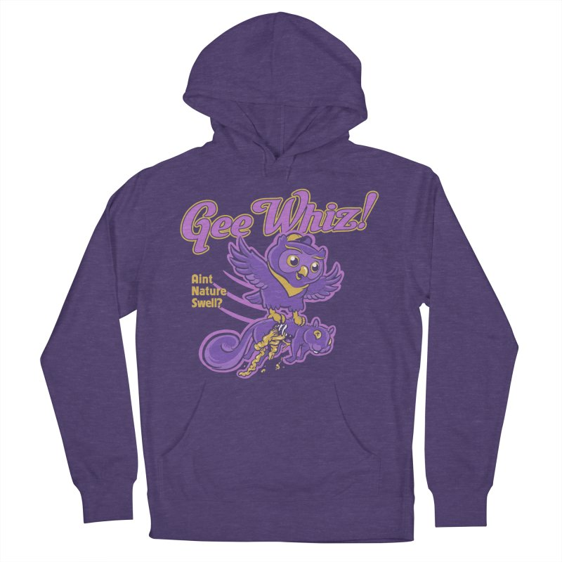 Gee Whiz Men's Pullover Hoody by thunderpeel