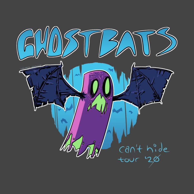 Ghost Bats Can't Hide Tour '20 Accessories Neck Gaiter by Walter Ostlie