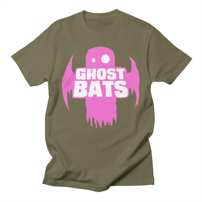 Ghost Bats Band Shirt Men's T-Shirt by Walter Ostlie
