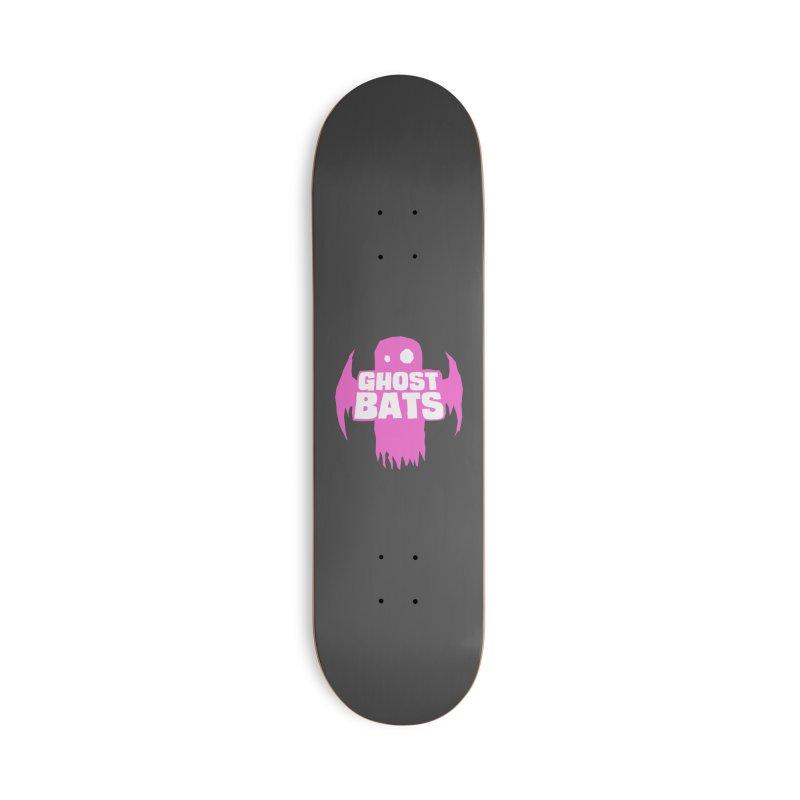 Ghost Bats Band Shirt Accessories Skateboard by Walter Ostlie