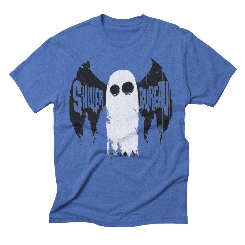 The Evil Ghost Bat Men's T-Shirt by Walter Ostlie