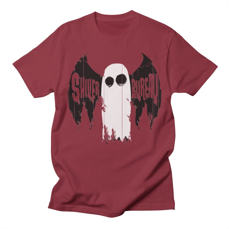 The Evil Ghost Bat Men's Regular T-Shirt by Walter Ostlie
