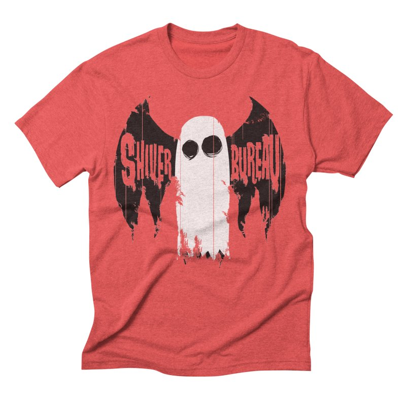 The Evil Ghost Bat Men's Triblend T-shirt by Walter Ostlie
