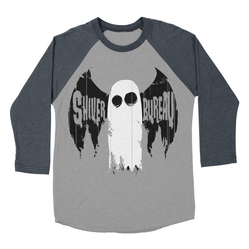 The Evil Ghost Bat Women's Baseball Triblend Longsleeve T-Shirt by Walter Ostlie