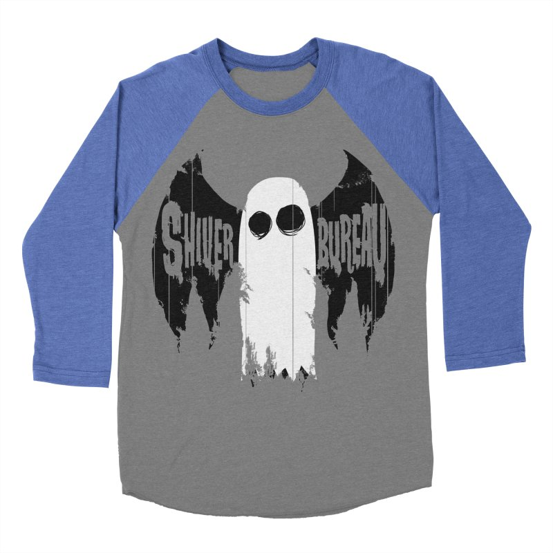 The Evil Ghost Bat Men's Baseball Triblend T-Shirt by Walter Ostlie