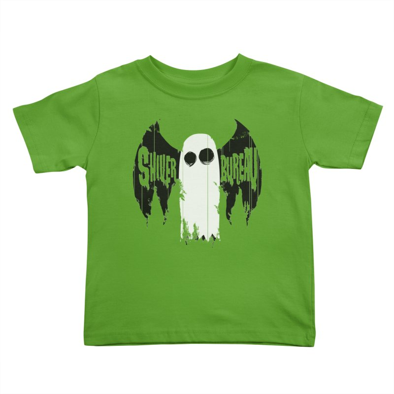 The Evil Ghost Bat Kids Toddler T-Shirt by Walter Ostlie