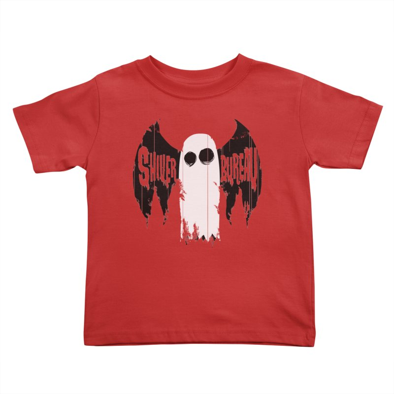 The Evil Ghost Bat Kids Toddler T-Shirt by Walter Ostlie