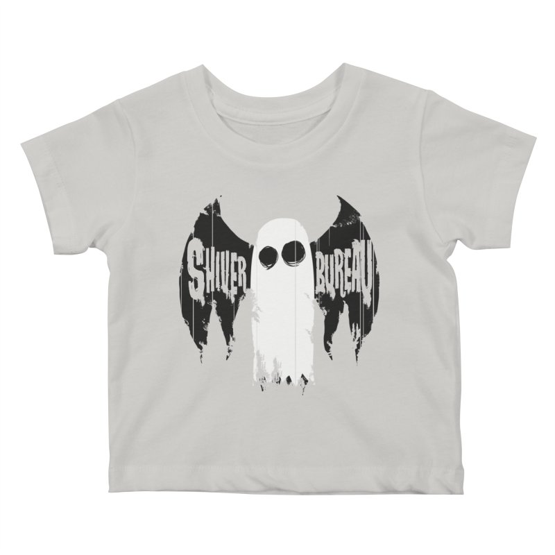 The Evil Ghost Bat Kids Baby T-Shirt by Walter Ostlie