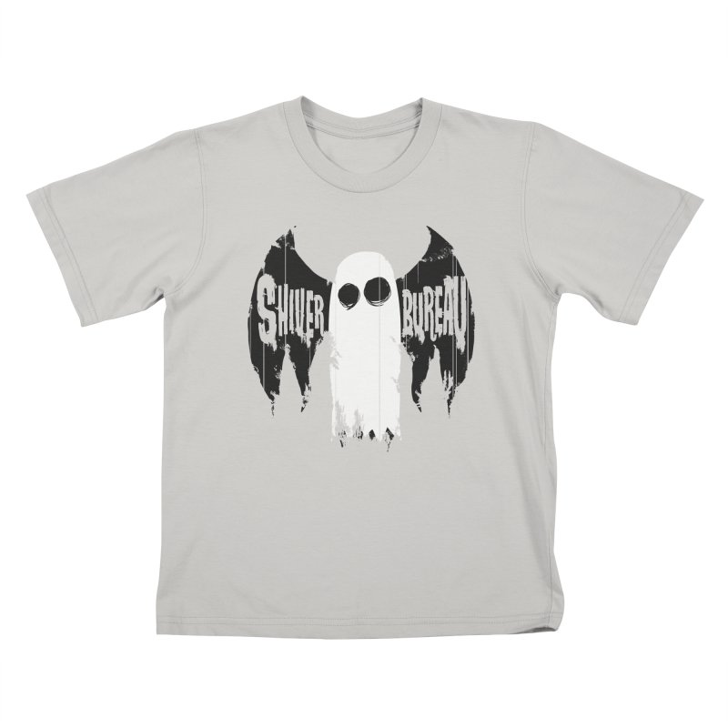 The Evil Ghost Bat Kids T-Shirt by Walter Ostlie