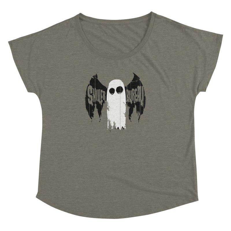 The Evil Ghost Bat Women's Dolman by Walter Ostlie