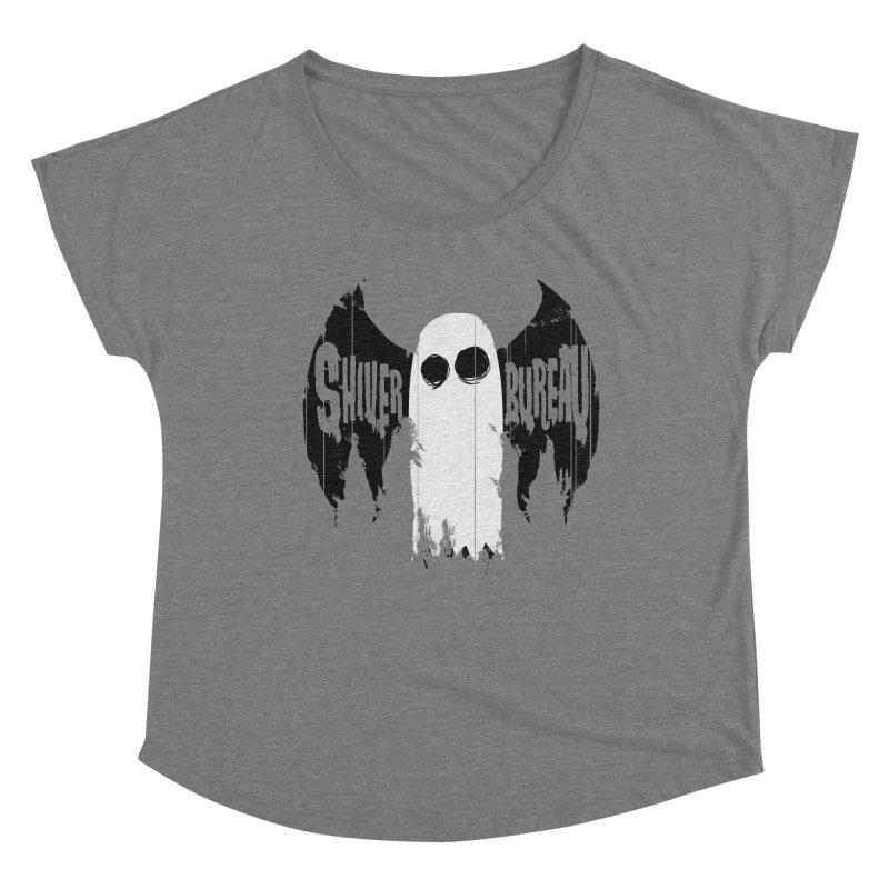 The Evil Ghost Bat Women's Scoop Neck by Walter Ostlie