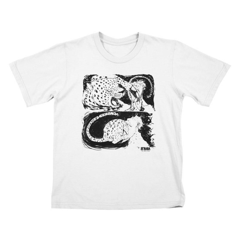 Open Wide Kids T-Shirt by Walter Ostlie