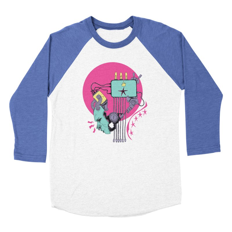 Celebrity Women's Baseball Triblend Longsleeve T-Shirt by Walter Ostlie