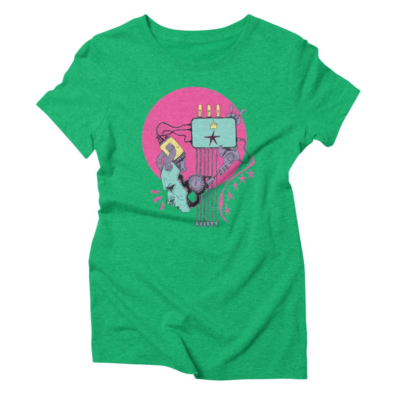 Celebrity Women's Triblend T-Shirt by Walter Ostlie