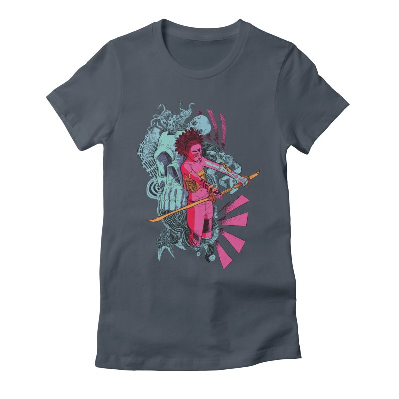 Afterlife Women's Fitted T-Shirt by Walter Ostlie