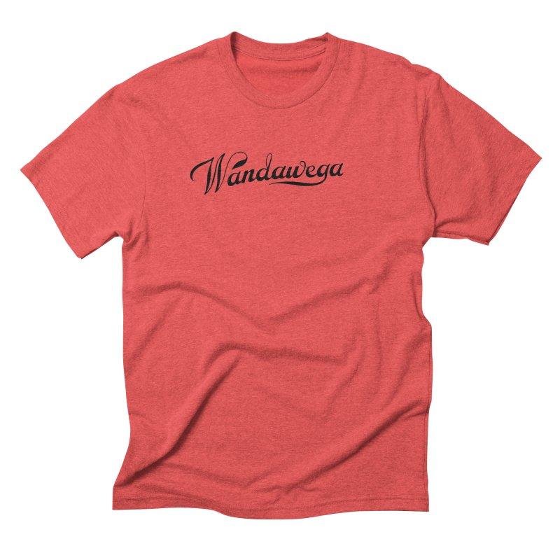 Classic Wandawega Script: Tees Men's Triblend T-Shirt by Wandawega's Shop