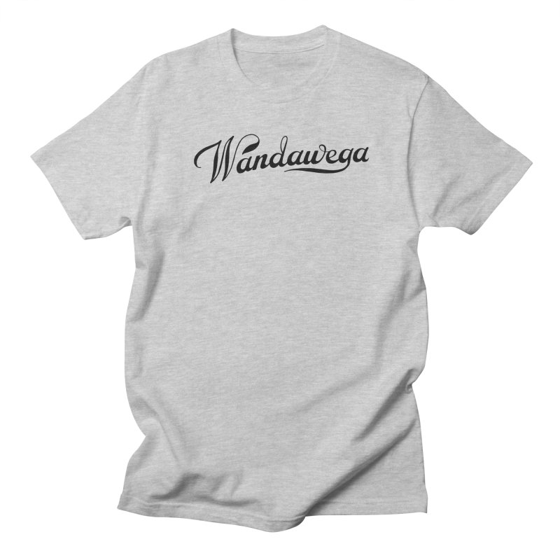 Classic Wandawega Script: Tees Men's Regular T-Shirt by Wandawega's Shop