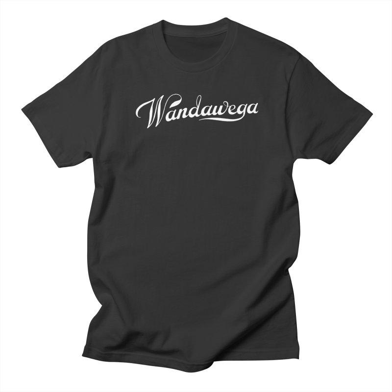 Classic Wandawega Script: Tees (white) Men's T-Shirt by Wandawega's Shop