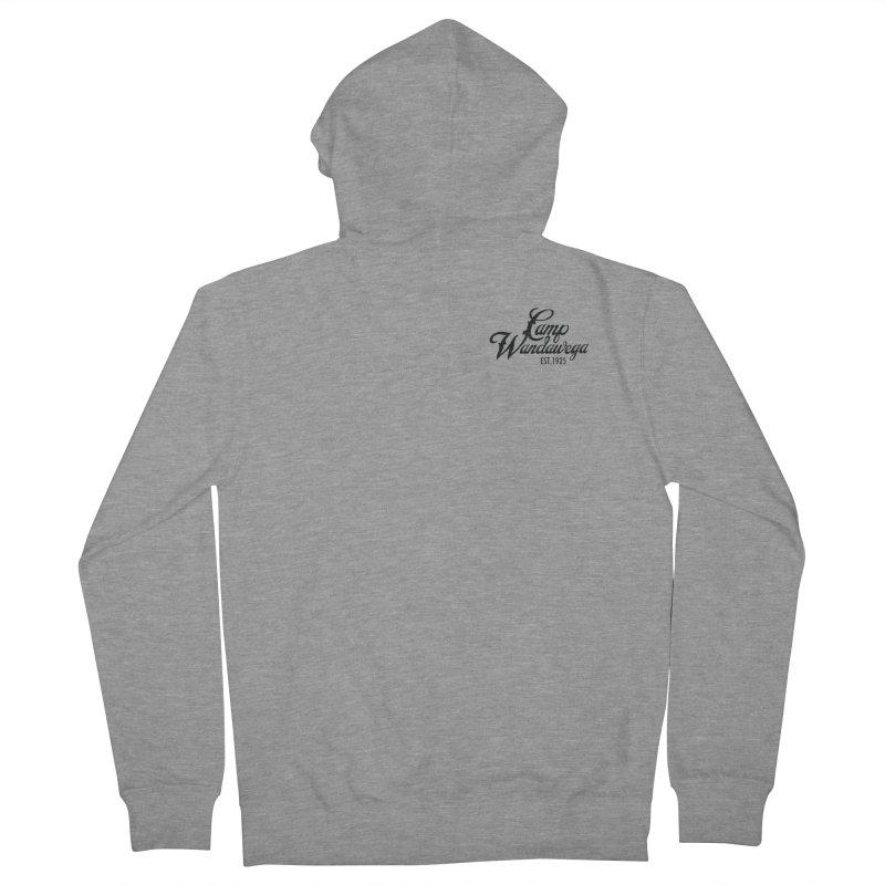 Original Logo: Sweatshirts Women's French Terry Zip-Up Hoody by Wandawega's Shop