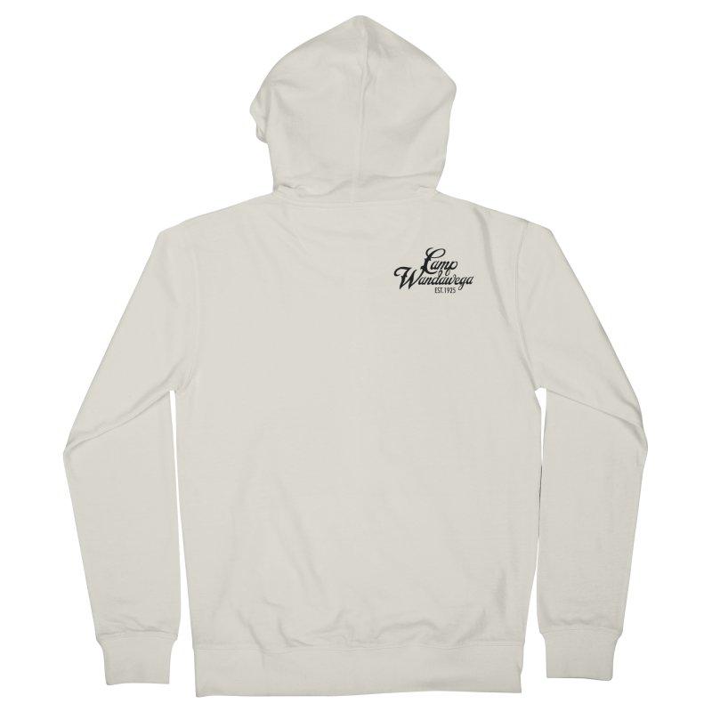 Original Logo: Sweatshirts Men's French Terry Zip-Up Hoody by Wandawega's Shop