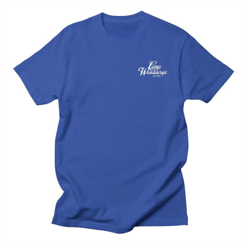 Original Logo: Tees (white) Men's Regular T-Shirt by Wandawega's Shop