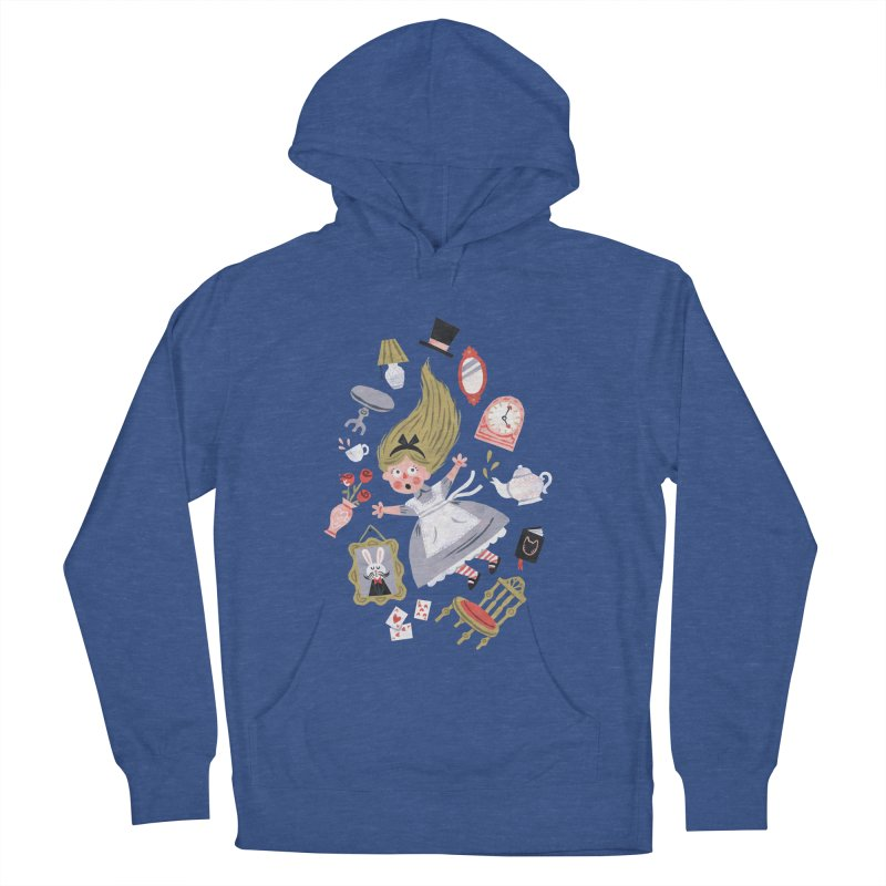 Alice in Wonderland Women's Pullover Hoody by WanderingBert Shirts and stuff