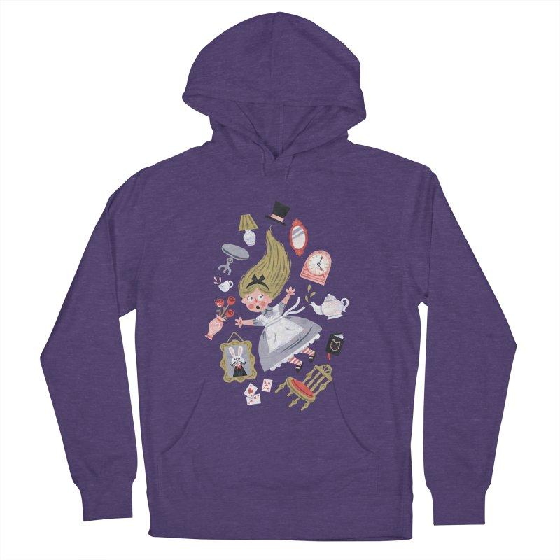Alice in Wonderland Women's Pullover Hoody by WanderingBert Shirts and stuff