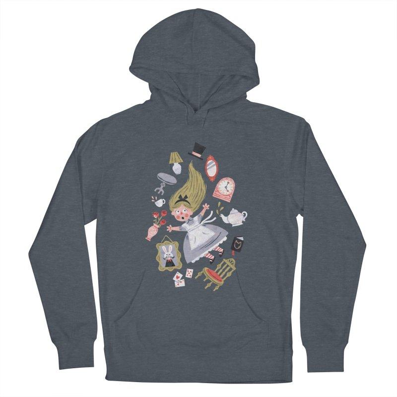 Alice in Wonderland Men's Pullover Hoody by WanderingBert Shirts and stuff