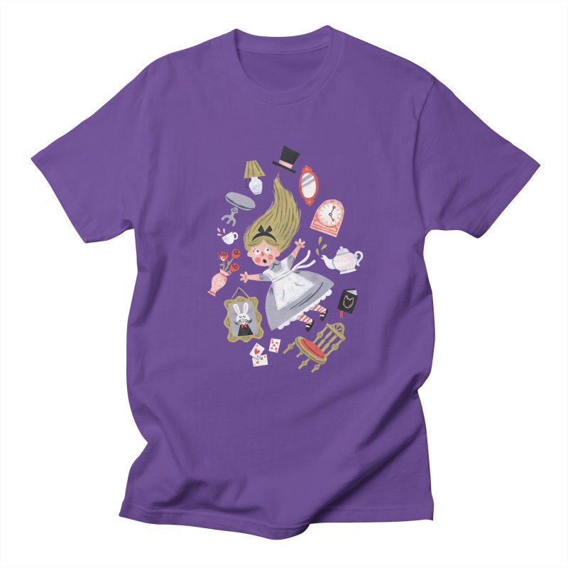 Alice in Wonderland Women's Unisex T-Shirt by WanderingBert Shirts and stuff