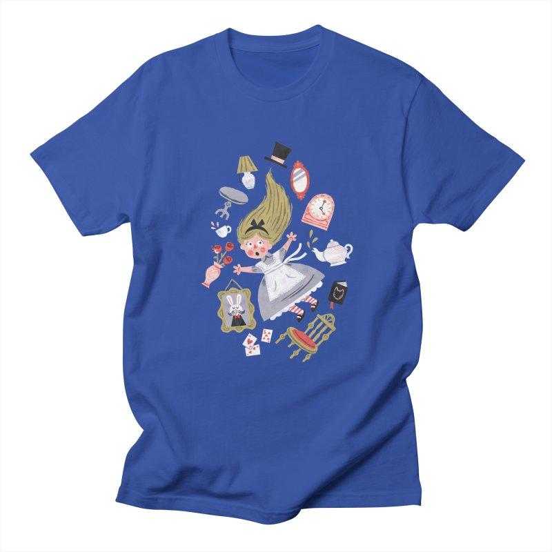 Alice in Wonderland Men's T-shirt by WanderingBert Shirts and stuff
