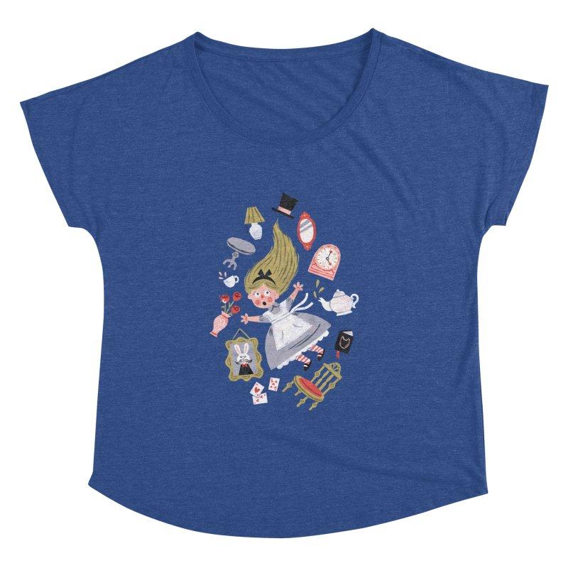 Alice in Wonderland Women's Dolman by WanderingBert Shirts and stuff