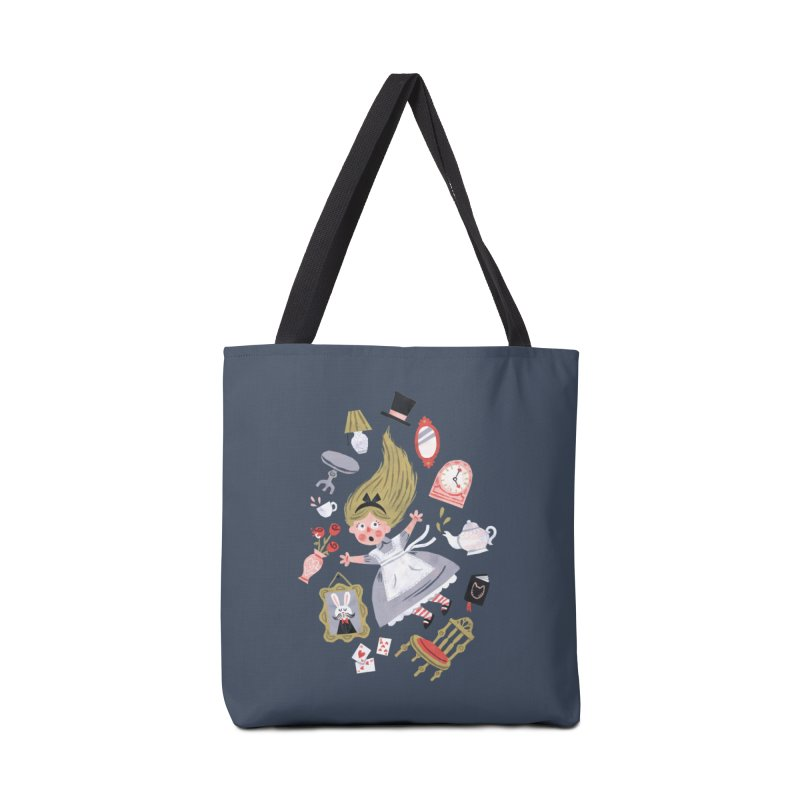Alice in Wonderland Accessories Bag by WanderingBert Shirts and stuff