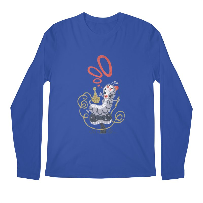 Caterpillar - Alice in Wonderland Men's Longsleeve T-Shirt by WanderingBert Shirts and stuff