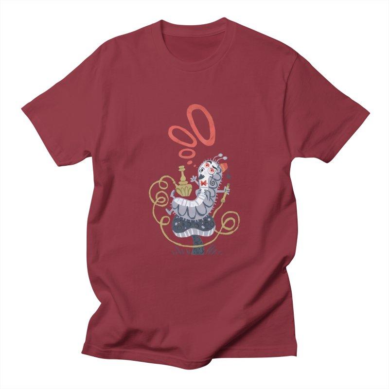 Caterpillar - Alice in Wonderland Women's Unisex T-Shirt by WanderingBert Shirts and stuff