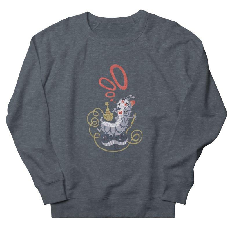 Caterpillar - Alice in Wonderland Women's Sweatshirt by WanderingBert Shirts and stuff
