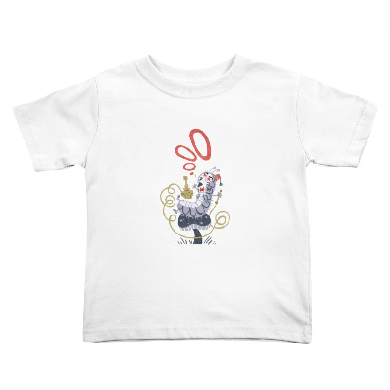 Caterpillar - Alice in Wonderland Kids Toddler T-Shirt by WanderingBert Shirts and stuff