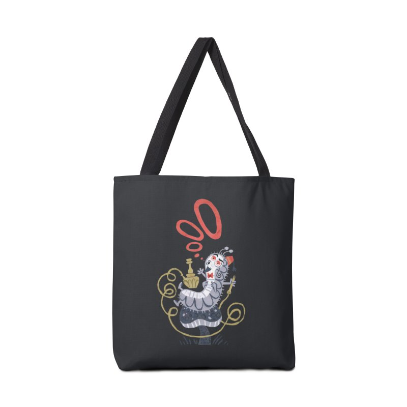 Caterpillar - Alice in Wonderland Accessories Bag by WanderingBert Shirts and stuff