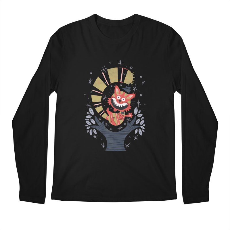 Cheshire Cat - Alice in Wonderland Men's Longsleeve T-Shirt by WanderingBert Shirts and stuff
